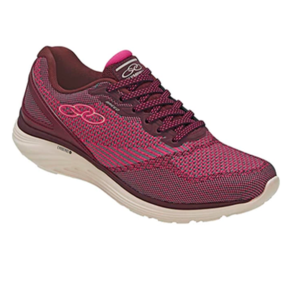 tênis elástico rosado
